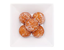 Japanese sugar round donut Stock Images