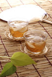 Japanese summer. Most of japanese drink cold barley tea in summer,because that drink make them cool Stock Image