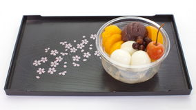 Japanese summer dessert Stock Photography