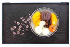 Japanese summer dessert Royalty Free Stock Photo