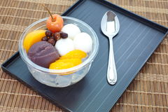 Japanese summer dessert Royalty Free Stock Photography