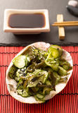 Japanese sunomono salad Stock Photography