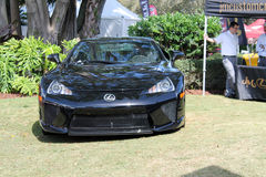 Japanese supercar at outdoors event Stock Photo