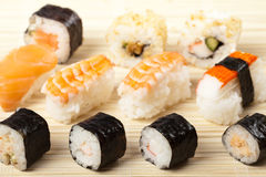 Japanese sushi Stock Photos