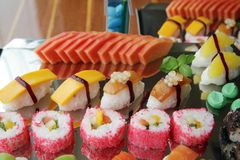 Japanese sushi Royalty Free Stock Photos