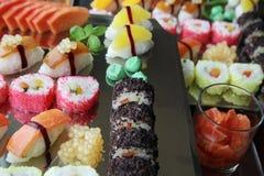 Japanese sushi. Food on buffet Stock Photo