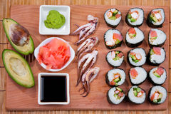 Japanese sushi, Stock Photography