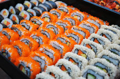 Japanese sushi. Stock Photos