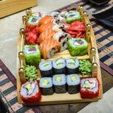 Japanese sushi Royalty Free Stock Photos