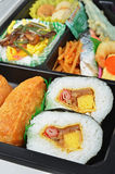 Japanese sushi bento Stock Photos