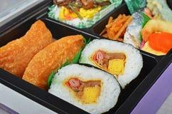 Japanese sushi bento Royalty Free Stock Photography