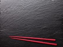Japanese sushi chopsticks Stock Image