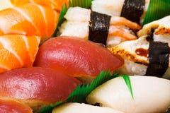 Japanese sushi close up Stock Photo