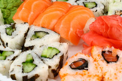 Japanese sushi collection Stock Images