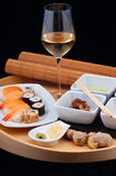 Japanese sushi dinner Stock Photo