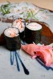 Japanese sushi dish. Royalty Free Stock Photos