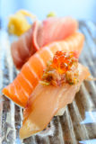 Japanese sushi dish Royalty Free Stock Images