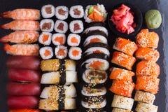 Japanese sushi dish Royalty Free Stock Photo