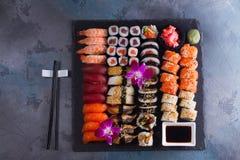Japanese sushi dish Stock Image