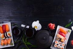 Japanese sushi dish Stock Photos
