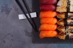 Japanese sushi dish Stock Images