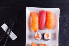 Japanese sushi dish Royalty Free Stock Photography