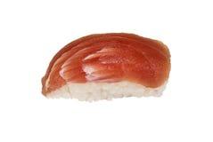 Japanese sushi isolated on a white background.  Royalty Free Stock Images