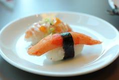Japanese sushi with Kani Stock Photos
