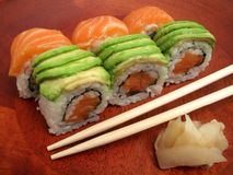 Japanese Sushi Meal Royalty Free Stock Photos