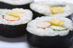 Japanese sushi roll Stock Image