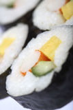 Japanese sushi roll Royalty Free Stock Photos