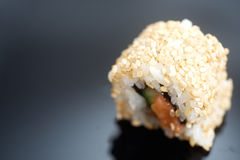 Japanese sushi roll Alaska Stock Photo