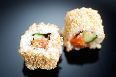 Japanese sushi roll Alaska Stock Photography