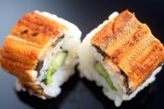 Japanese sushi roll Canada Stock Image