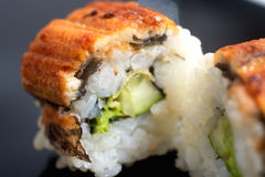 Japanese sushi roll Canada Royalty Free Stock Photos