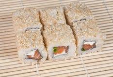 Japanese Sushi rolls Royalty Free Stock Photography
