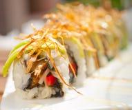 Japanese sushi rolls Maki Sushi Royalty Free Stock Images
