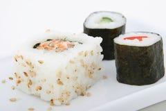 Japanese sushi seafood Stock Image