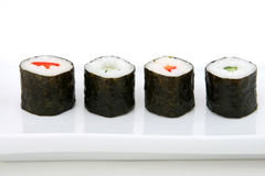 Japanese sushi seafood Stock Photos