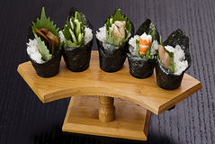 JAPANESE SUSHI SEAFOOD Royalty Free Stock Photo