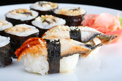 Japanese sushi set Stock Images