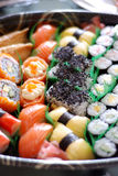 Japanese Sushi Set Royalty Free Stock Images
