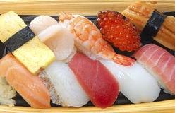 Japanese sushi set Royalty Free Stock Photo