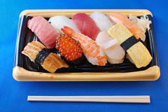 Japanese sushi set Stock Photos