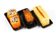 Japanese Sushi Set Royalty Free Stock Photography