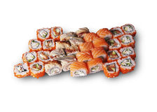 Japanese sushi set. The picture was taken in a personal studio photographer Stock Image