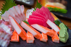 Japanese Sushi set Royalty Free Stock Photos