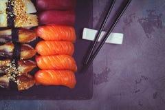 Japanese sushi dish Royalty Free Stock Photos