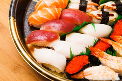 Japanese sushi takeaway Royalty Free Stock Image