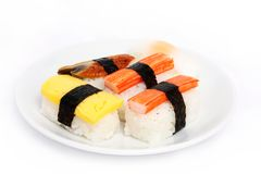 Japanese sushi traditional food Stock Photos